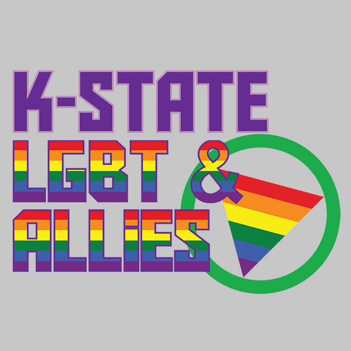 Logo for Kansas State University's LGBT and Allies group.