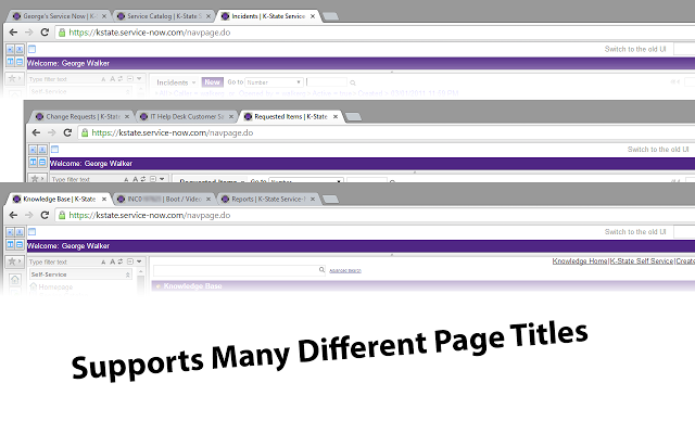 K-State Service-Now Title Changer Extension for Chrome